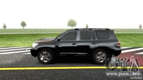 Toyota Land Cruiser 200 RESTALE para GTA 4 left