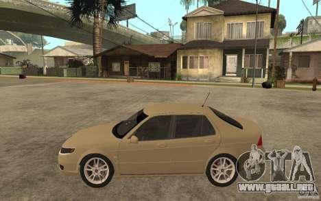 Saab 9-5 para GTA San Andreas left