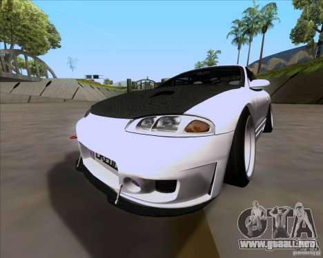 Mitsubishi Eclipse para GTA San Andreas left