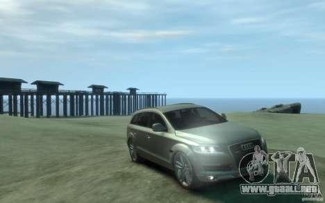 Audi Q7 para GTA 4 vista hacia atrás