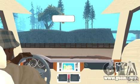 Range Rover Vogue 2004 para GTA San Andreas vista hacia atrás
