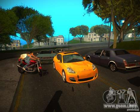 ENBSeries Realistic para GTA San Andreas sucesivamente de pantalla