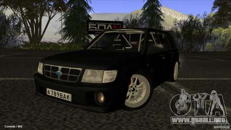 Subaru Forester Turbo 1998 para GTA San Andreas