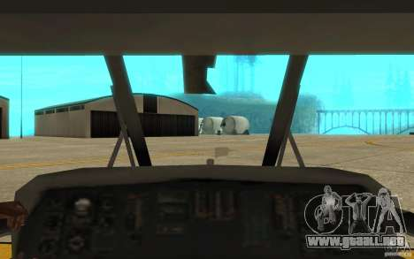 UH-60 Black Hawk para visión interna GTA San Andreas