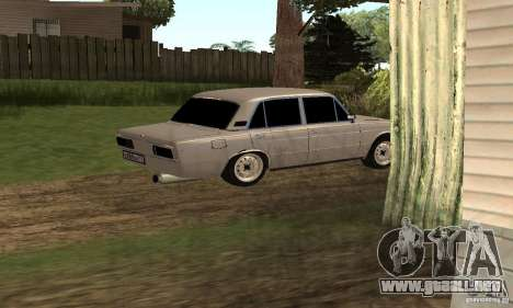 VAZ 2106 Tuning luz para vista inferior GTA San Andreas