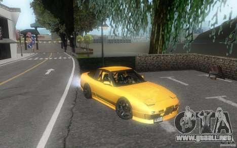 Nissan 180sx v2 para visión interna GTA San Andreas