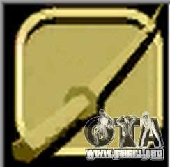 Gold Katana para GTA Vice City tercera pantalla