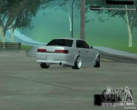 Toyota Mark II Tuning para la visión correcta GTA San Andreas