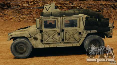 HMMWV M1114 v1.0 para GTA 4 left