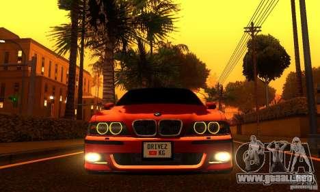 BMW M5 E39 2003 para la visión correcta GTA San Andreas