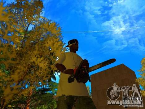 New Weapon Pack para GTA San Andreas octavo de pantalla