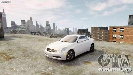 Infiniti G35 para GTA 4