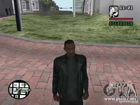 Chaqueta sin una foto de espaldas para GTA San Andreas segunda pantalla