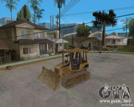 Bulldozer del COD 4 MW para visión interna GTA San Andreas