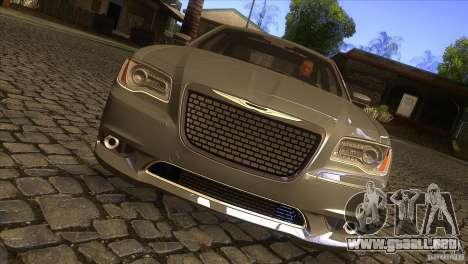Chrysler 300 SRT-8 2011 V1.0 para visión interna GTA San Andreas