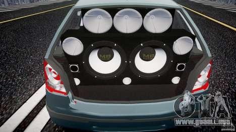 Volkswagen Polo 1998 para GTA 4 vista hacia atrás