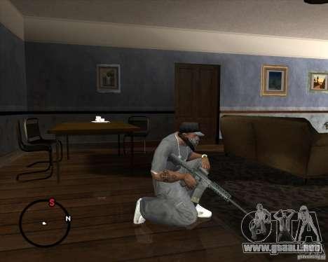 M4A1 SOPMOD para GTA San Andreas tercera pantalla