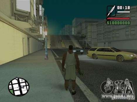 Sueño para GTA San Andreas segunda pantalla
