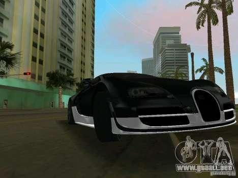 Bugatti Veyron Extreme Sport para GTA Vice City left