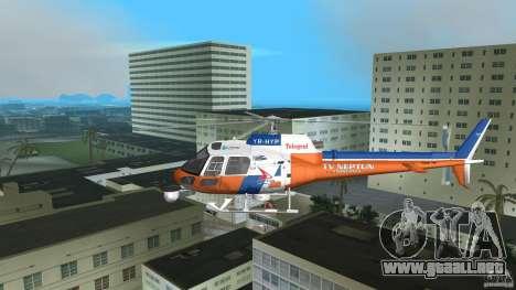 Eurocopter As-350 TV Neptun para GTA Vice City vista interior