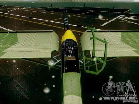 Fi-156 para visión interna GTA San Andreas