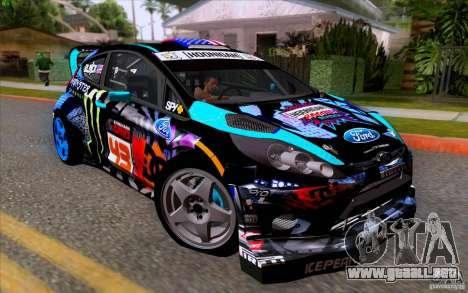 Ford Fiesta 2013 v2.0 para GTA San Andreas