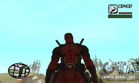 Dead Pool para GTA San Andreas sexta pantalla