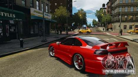 Dodge Stealth Turbo RT 1996 para GTA 4 visión correcta