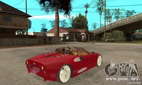 Spyker C8 Spyder para la visión correcta GTA San Andreas