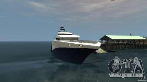 Yacht v1 para GTA 4 segundos de pantalla