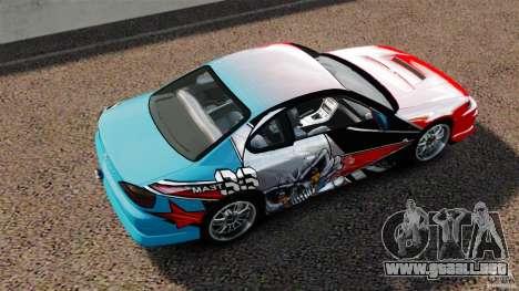 Nissan Silvia S15 Evil Empire para GTA 4 visión correcta