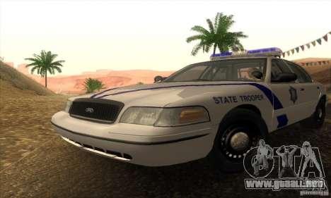 Ford Crown Victoria Arkansas Police para GTA San Andreas