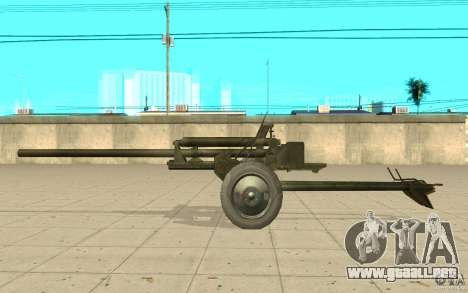 Pistola ZiS-2 para GTA San Andreas left
