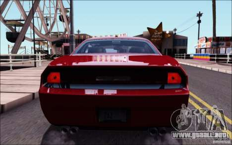 Dodge Challenger Rampage Customs para GTA San Andreas