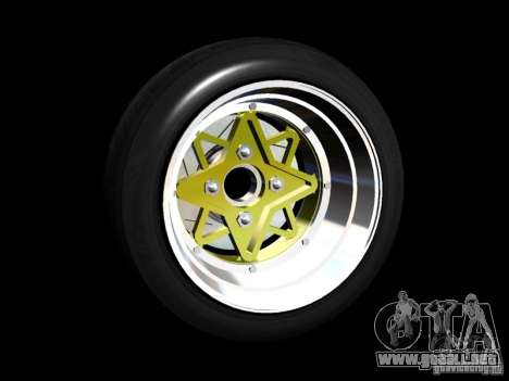 Old School Rims Pack para GTA San Andreas