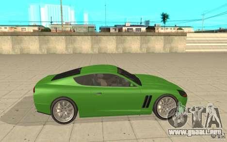 Super GT de GTA 4 para GTA San Andreas left