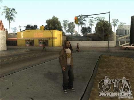 Ryo NFS PS para GTA San Andreas segunda pantalla