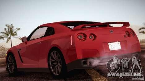 Nissan GTR Black Edition para la visión correcta GTA San Andreas