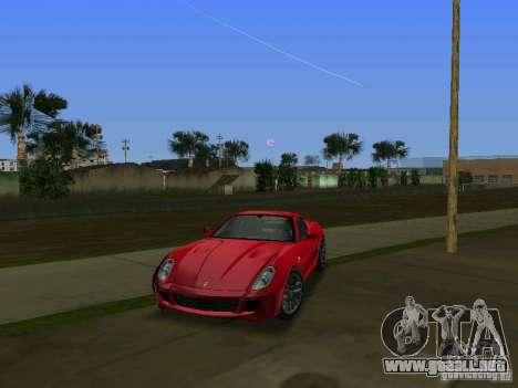 Ferrari 599 GTB para GTA Vice City left