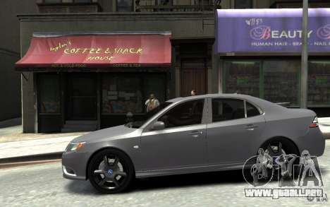 Saab 9-3 Turbo X 2008 para GTA 4 left