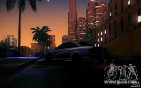 Mercedes Benz CL65 AMG para vista inferior GTA San Andreas