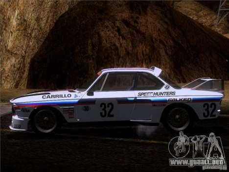 BMW CSL GR4 para la vista superior GTA San Andreas