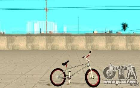 REAL Street BMX mod Chrome Edition para GTA San Andreas left