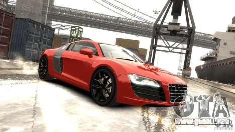 Audi R8 V10 2010 [EPM] para GTA 4 left