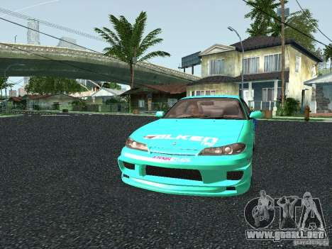 Nissan Silvia S15 Tunable para visión interna GTA San Andreas