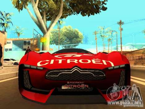 Citroen GT Gran Turismo para GTA San Andreas left