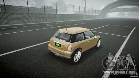 Mini Cooper S para GTA 4 vista lateral
