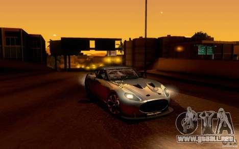 Aston Martin Zagato V12 V1.0 para GTA San Andreas