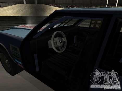GreenWood Racer para visión interna GTA San Andreas