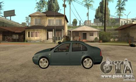 Volkswagen Bora-Golf para GTA San Andreas left